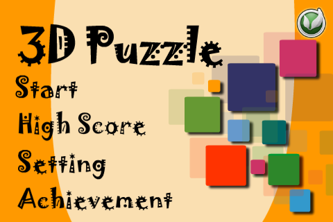 Screenshot 3D Puzzle