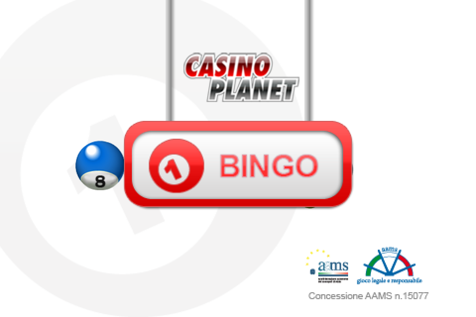 Screenshot Bingo Casino Planet