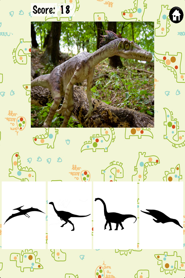Screenshot Fun with Dinosarus – Toddler & Preschool Educational Fun Game